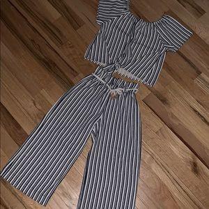 Zara kids striped Outfit!